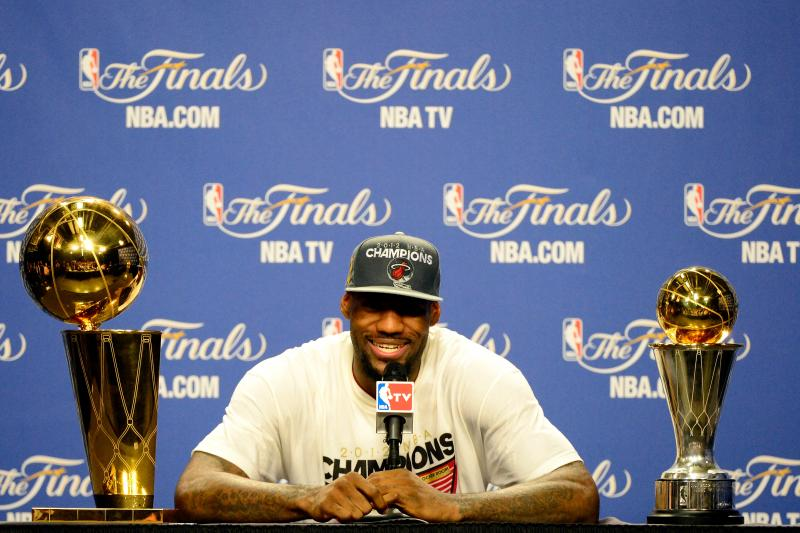 LeBron: Jordan chase is about motivation, not greatness