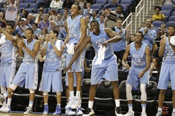 NCAA Tournament Elite Eight North Carolina Tar Heels vs Notre Dame