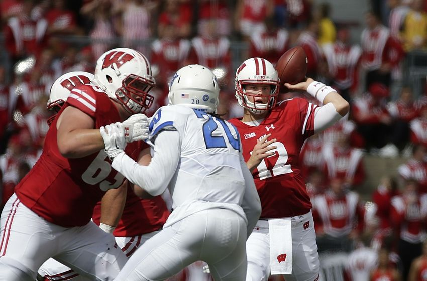 collage football wisconsin football odds