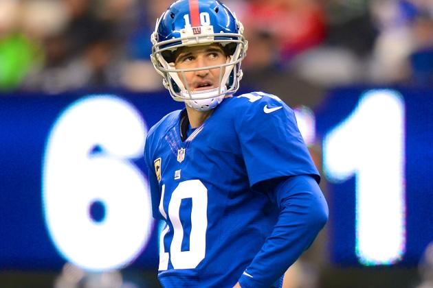 Manning's 4 TDs propel Giants past Eagles