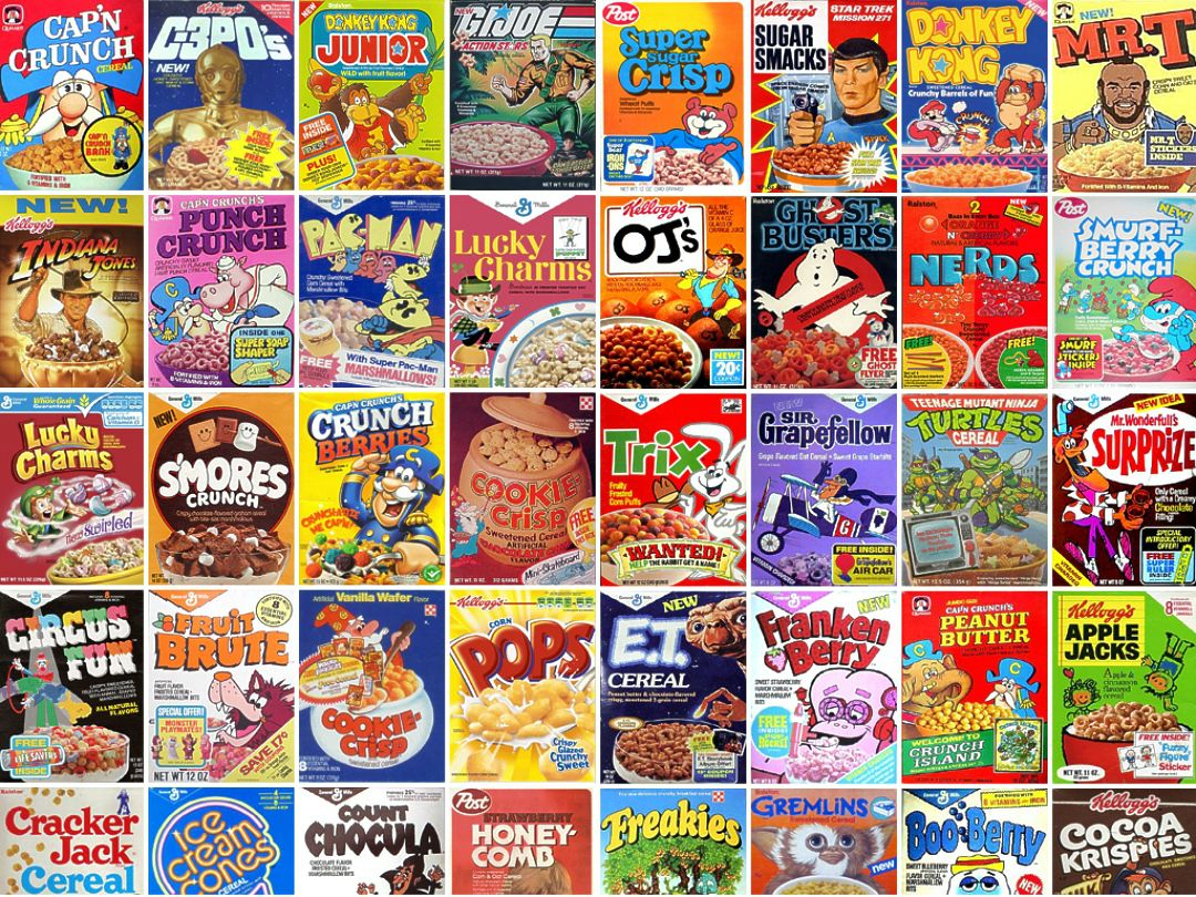 Favorite Cereal As A Kid Topic Of The Day Everything Else