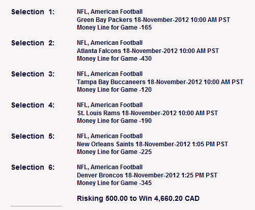 4 team parlay payouts sportsbook review nfl