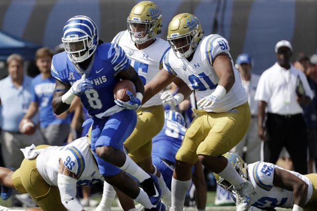 Ferguson, Taylor rally No. 25 Memphis past Houston, 42-38