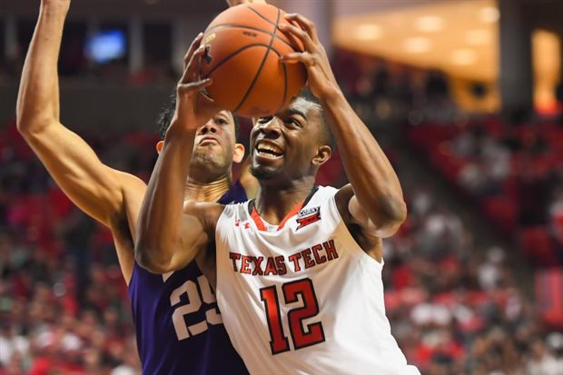 Red Raiders pull away down stretch to defeat SFA